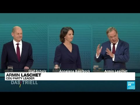 SPD's Scholz consolidates German election lead with TV debate win • FRANCE 24 English