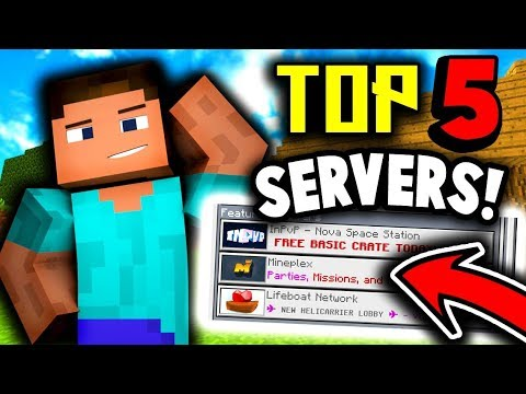 Top 5 Mcpe Servers Factions Minigames Prison And More