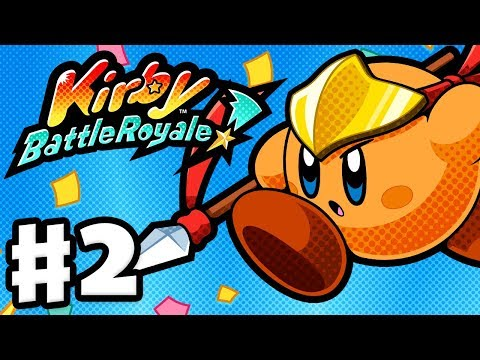 Kirby Battle Royale - Gameplay Walkthrough Part 2 - Story Mo
