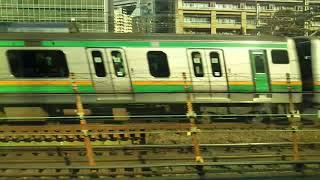東海道新幹線、東京駅~品川駅