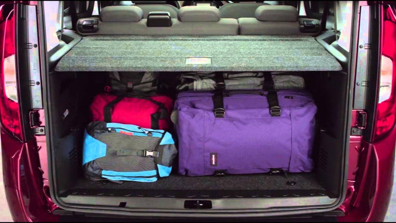 New Fiat Doblo Interior Design Automototv Youtube