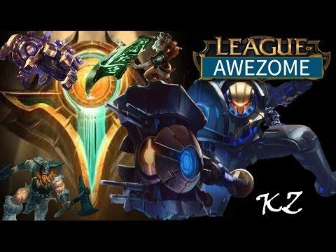 League of Legends - Ascension 5v5 - Jayce - Full Game