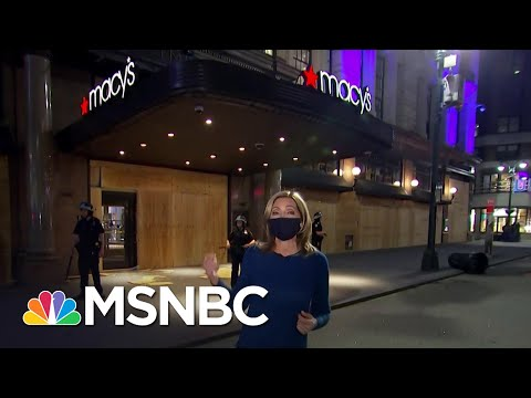 New York Police Make Arrests As Looters Hit Iconic Macy's Store | The 11th Hour | MSNBC