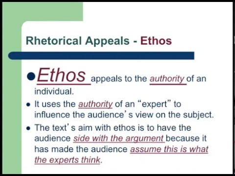 Rhetorical Appeals, Modes, & Strategies Lecture