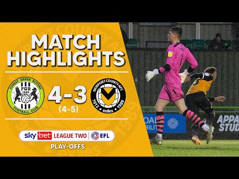 Forest Green Newport Goals And Highlights