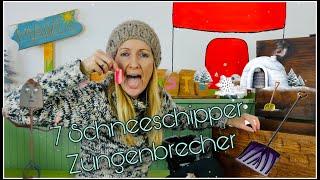 Ein Winter - Zungenbrecher für Kinder I Kindergarten I for Kidz I