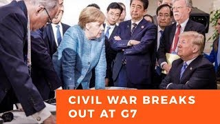 Civil war breaks out at G7 summit