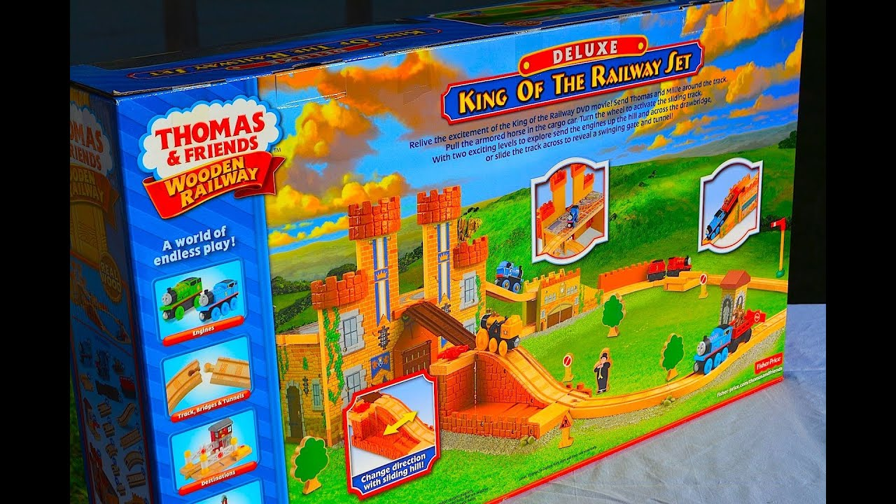 Thomas & Friends KING OF THE RAILWAY Deluxe Set By Fisher Price ...