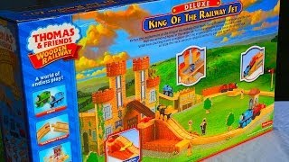 Thomas & Friends KING OF THE RAILWAY Deluxe Set By Fisher Price
