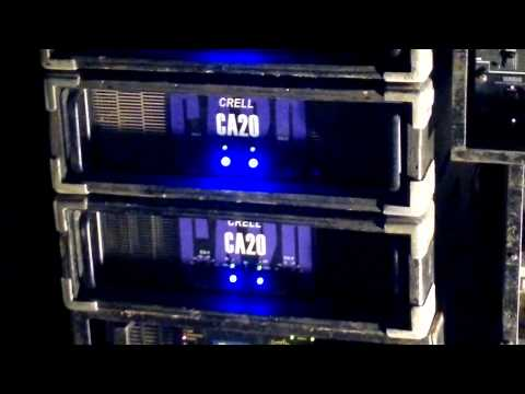 Testing Battle18 Amp Tsunami 20k In Wsx Box Power Amp Fet