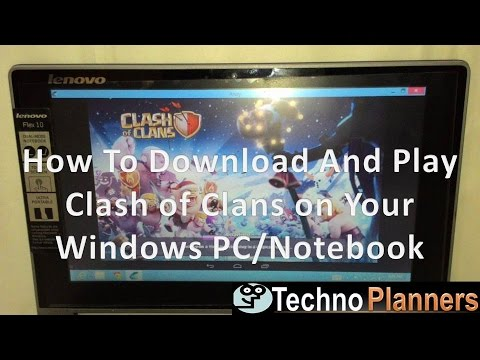 Download & Play Clash of Clans in PC Without Bluestacks