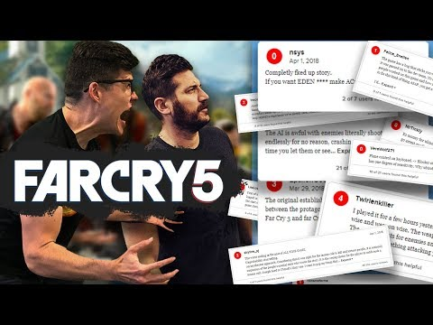 FAR CRY 5 REVIEWS ARE WRONG? - Dude Soup Podcast #168