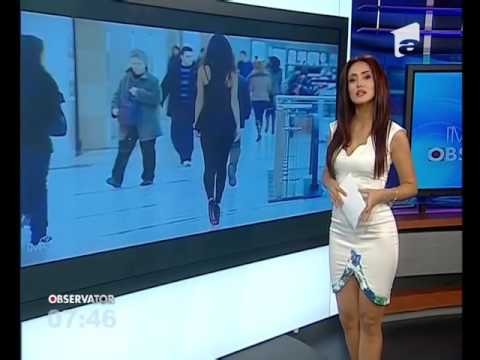 Extremly Hot News Anchor Wearing A Sexy Dress Youtube