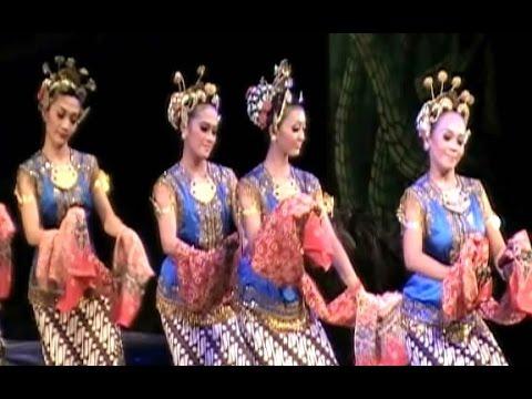 Tari SEKAR PUDYASTUTI - Wayang Orang PANCA BUDAYA Yogyakarta - Javanese Classical Dance  [HD]