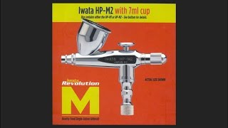 iwata hp m2 scale model tool review