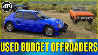 Forza Horizon 3 Online : USED CHEAP OFFROAD CARS CHALLENGE!!!