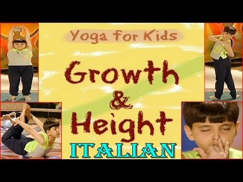 Yoga for kids -  Growth & Height - Your Yoga Gym - Italian