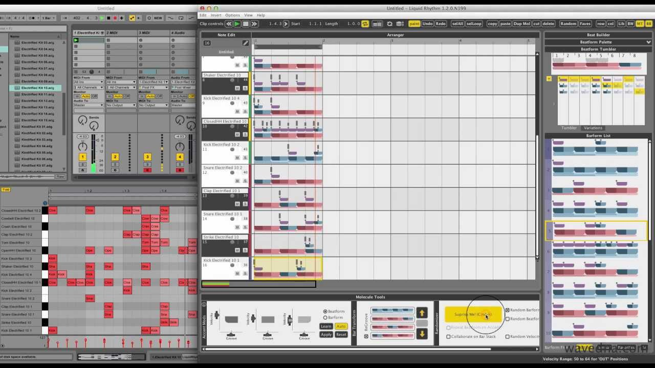 Beat Making Made Easy – Liquid Rhythm (Beat Generator Plug