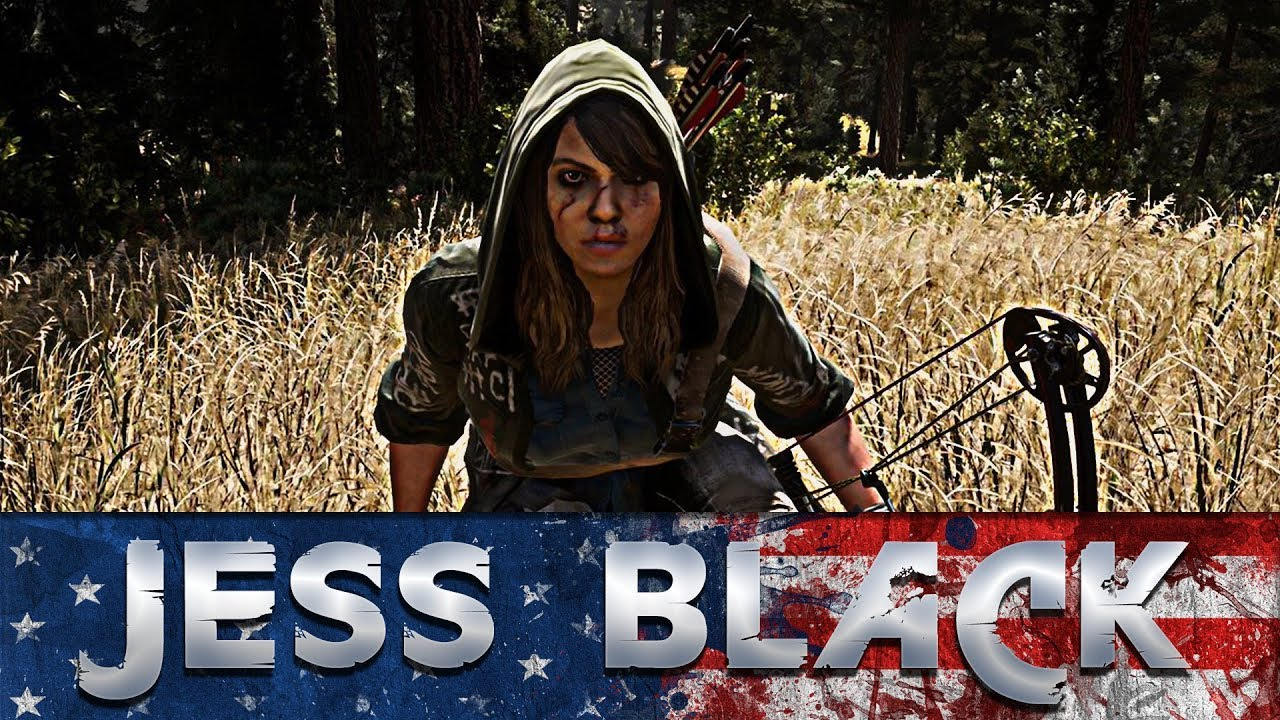Far Cry 5 The Horrifying Story Of Jess Black All Scenes