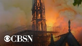 Fire extinguished at Notre Dame Cathedral as recovery process begins