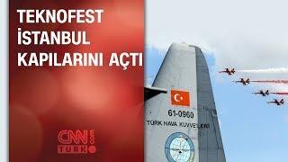 TEKNOFEST İstanbul kapılarını açtı