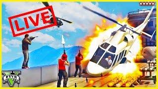 بث مباشر في لعبة Grand Theft Auto V PC ابلاع ☺