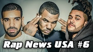 RapNews USA #6 [The Game, The Weeknd, Drake]