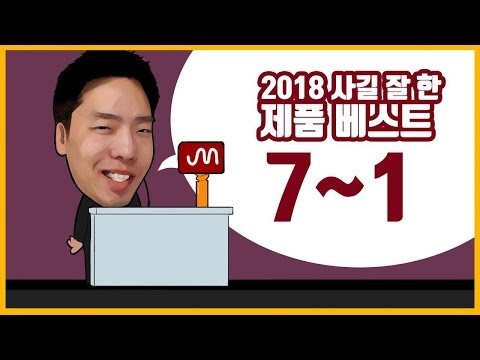 2018 올해 사길 잘 한 꿀템 베스트 7 - 1