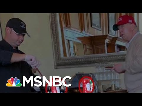 President Donald Trump's Omelet Bar Not Affected By National Emergency | All In | MSNBC