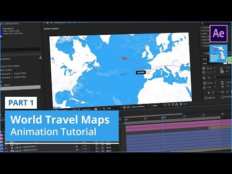 Using World Travel Maps Template - Part 1