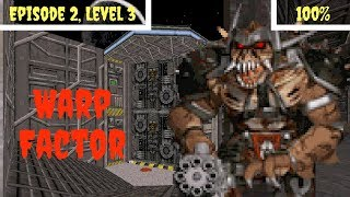 Duke Nukem 3D (100%) Walkthrough (E2L3: Warp Factor)