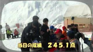 石狩市@全国中学校スキー大会優勝報告 2011/02/25(3分33秒)