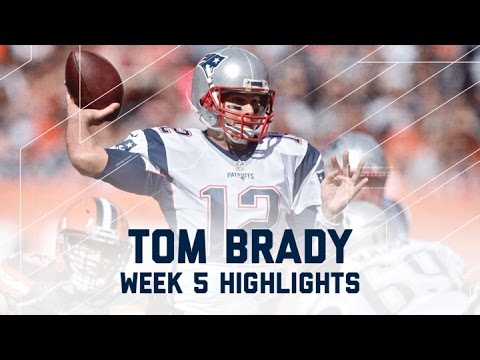 Every Tom Brady Throw from His 406-Yard, 3-TD Day!   NFL Wk 5 Player Highlights