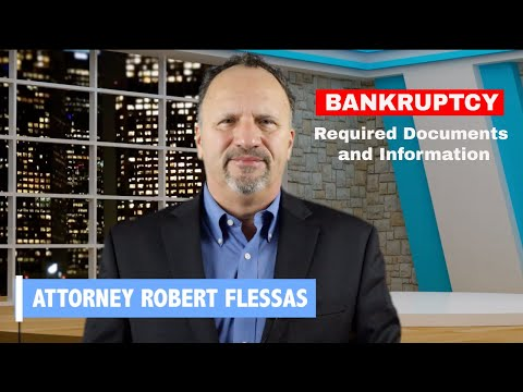 Documents Required for Bankruptcy