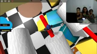 FIRST TIME PLAYING ESCAPE FROM ROBLOX IN THE BATHROOM-SERIE #UFA