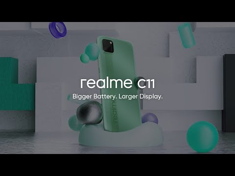 realme C11 | Bigger Battery. Larger Display.