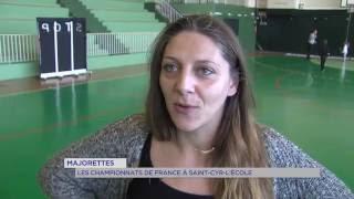 Majorettes : le championnat de France à Saint-Cyr-l'Ecole