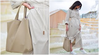 как просто сшить стильную сумку