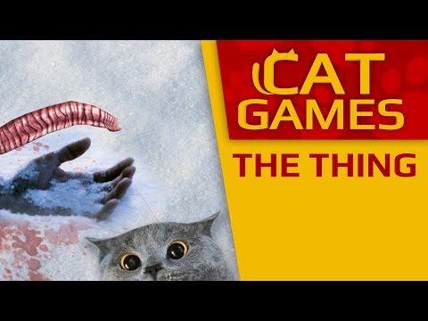 "CAT GAMES - The Thing (""Horror"" for Kittens) 2 HOURS 4K"