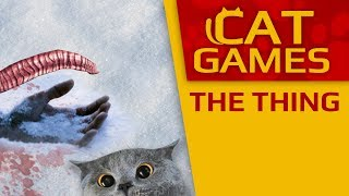 "CAT GAMES - The Thing (""Horror"" for Kittens) 2 HOURS 4K"