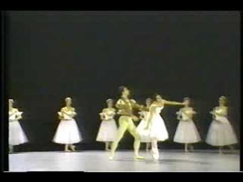 Marianna Tcherkassky and Frank Augustyn - Giselle Pas De Deux