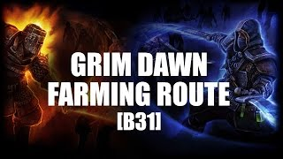 Grim Dawn [B31] - Farming Epics/Legendaries Personal Route [Blademaster Gameplay]