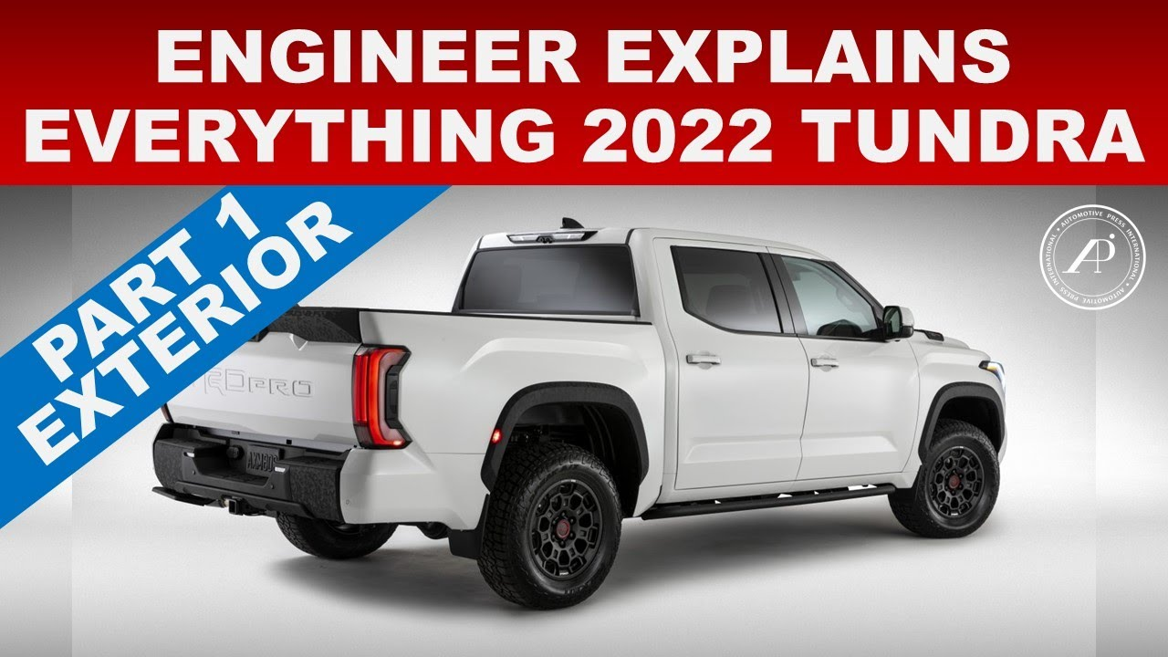 ENGINEER EXPLAINS EVERYTHING 2022 TOYOTA TUNDRA - PART 1 EXTERIOR AUDIT & INSPECTION