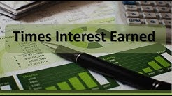 Financial Statements: Times Interest Earned