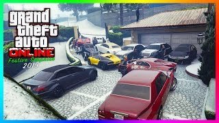 GTA 5 Online Festive Surprise 2019 Christmas DLC Update - Release Date, Snow Times, NEW Cars & MORE!