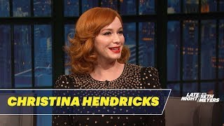Christina Hendricks' Mom Practiced Hypnotism on Neighborhood Kids