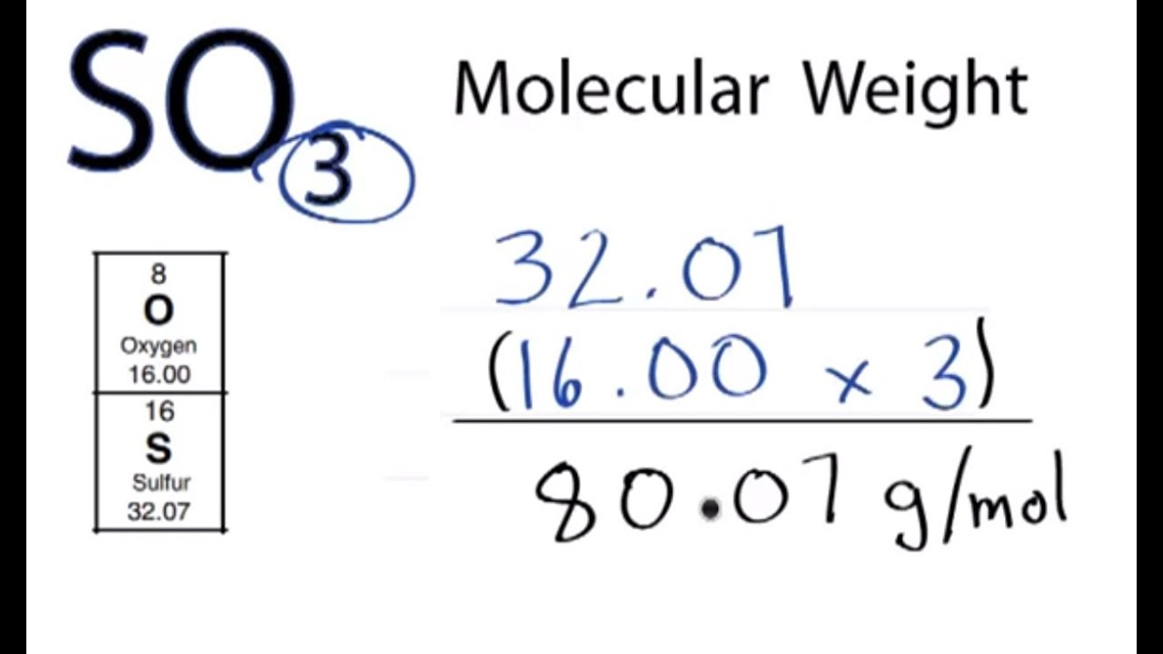 So3 molecular weight how to find the molar mass of so3 youtube gamestrikefo Choice Image