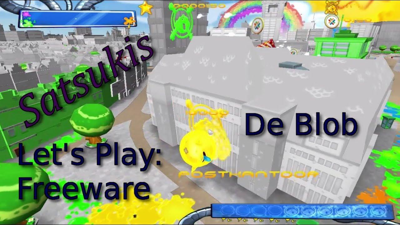 Letu0027s Play: De Blob [Freeware] [deutsch]