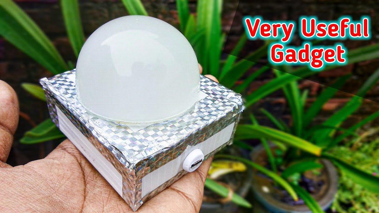 इसे बना लो यारों बड़े काम की चीज है || Very Useful Gadget || DJ Disco Light || Night Lamp || LED