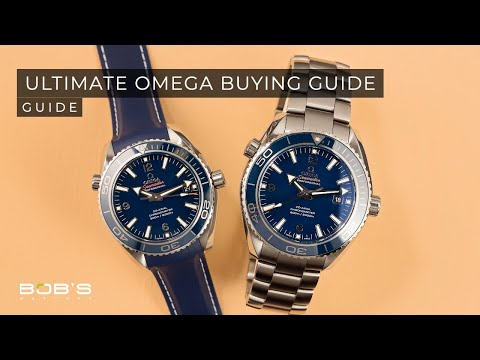 Best Omega Watches - The Ultimate Buying Guide | Bob's Watches
